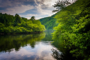 lehigh river in Allentown, PA